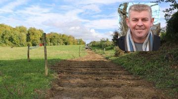 Thierry Bertrand, éleveur laitier: «J'ai pu rapprocher 12ha de ma ferme»