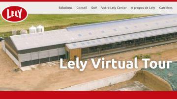 Faute de portes ouvertes, Lely propose son Lely Virtual Tour