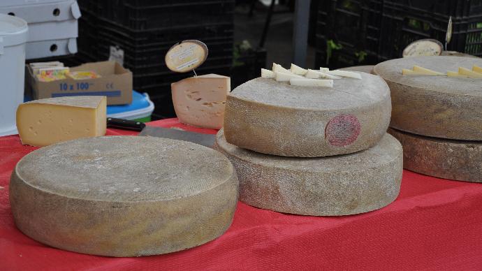 Dégustation et vente de fromage à la ferme