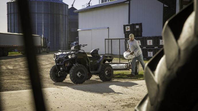 Quad agricole Polaris Sportsman
