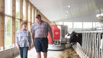 Visitez quatre fermes robotisées en live du 15 au 18 septembre