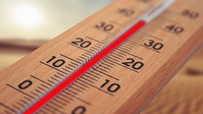 Thermomètre en hausse