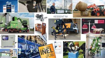 Les 16 innovations primées en faveur de l'élevage bovin