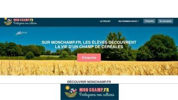 Monchamp.fr: un site de rencontres entre agriculteurs(.rices) et écoliers