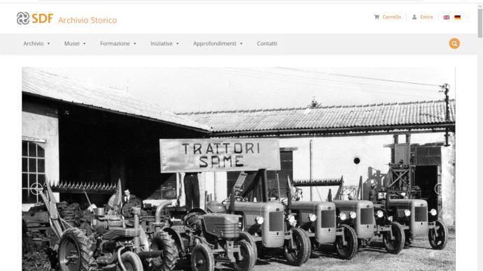 Site d'archives numériques groupe SDF