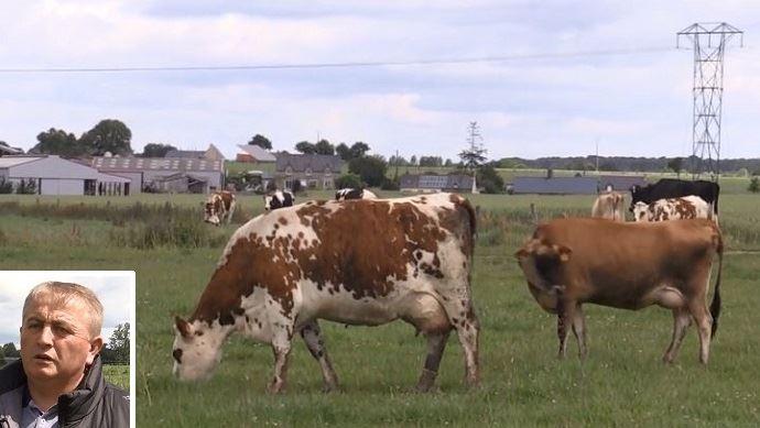 eric deroyand eleveur de vaches laitieres dans la manche
