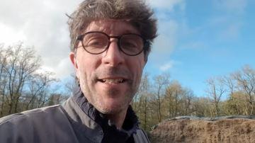 Antoine Thibault (27) fait le point après avoir testé les maïs m3 de Pioneer