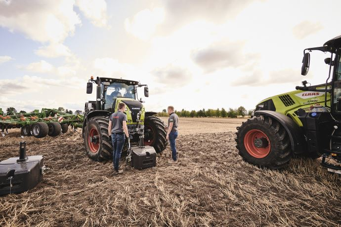 Tests DLG et Claas