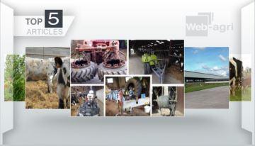 Le concours #AstuceAgri et la ferme des 1000 vaches: deux sujets à la Une