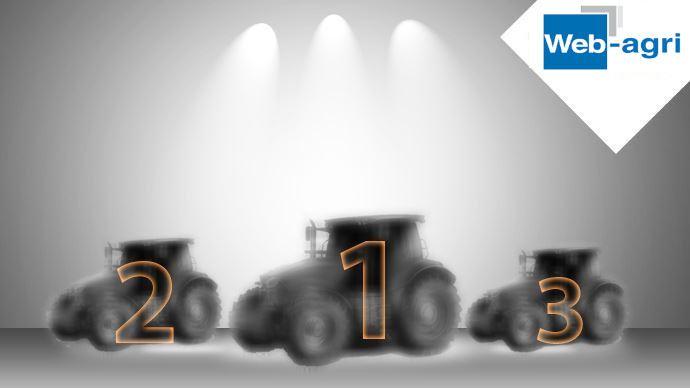 Podium parts de marché tracteurs 2020
