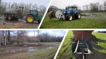Épandages d'effluents compliqués pour les éleveurs
