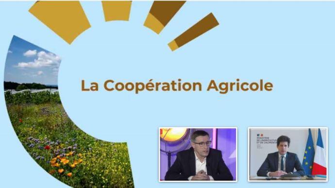 La Coopération agricole a organisé le 18 février une conférence sur l'économie ZEN: