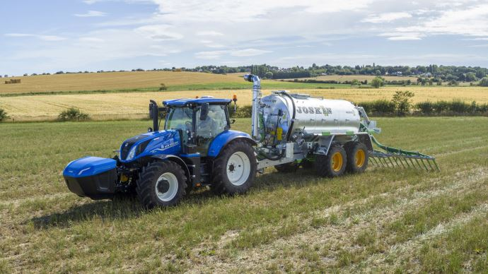 New Holland T Methane Power