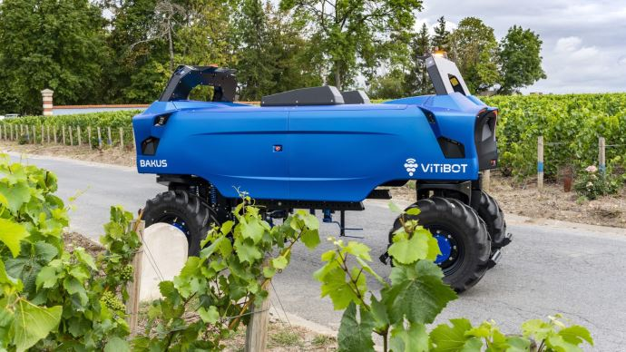 Robot viticole Vitibot Bakkus