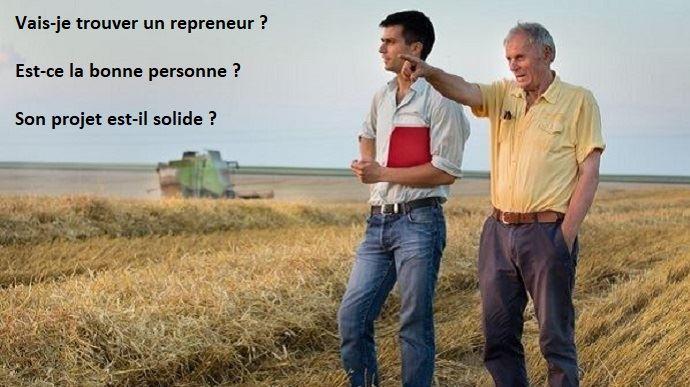 vieil et jeune agriculteur