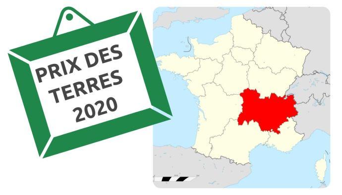 Le prix moyen des terres et pré libres en Auvergne Rhône Alpes était de 4940€/ha en 2020.