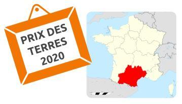 Quelle évolution du prix des terres en 2020 en Occitanie?