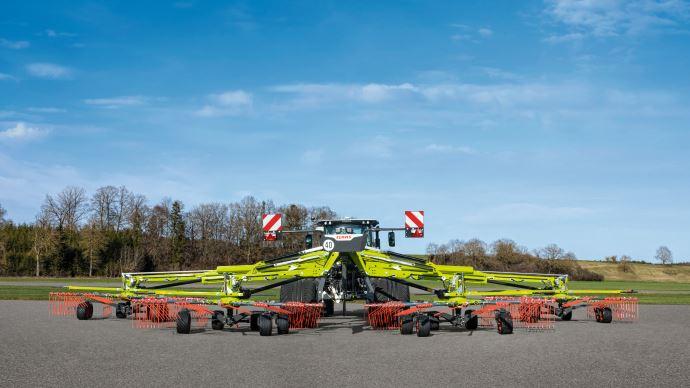 Claas andaineur 4 rotors Liner