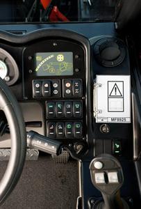 La cabine du téléscopique MF 8900 Xtra évolue... « Pour plus de confort »