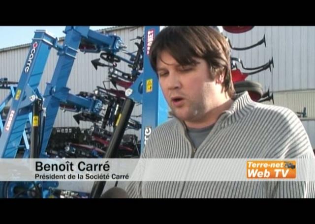 De la France à l'Europe, Carré continue son développement sur les outils de désherbage