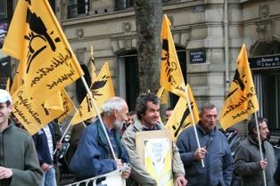 La confédération paysanne manifeste aux cotés des salariés « contre la fragilisation du système social »