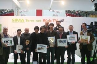 Les Etablissements Jarny, le groupe Bouchard et Beaupréau Motoculture récompensés