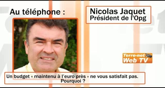 Nicolas Jaquet : « Le projet de Pac est dangereux pour la compétitivité des céréaliers français »