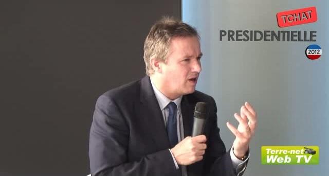 Nicolas Dupont-Aignan détaille ses positions sur les grands enjeux agricoles