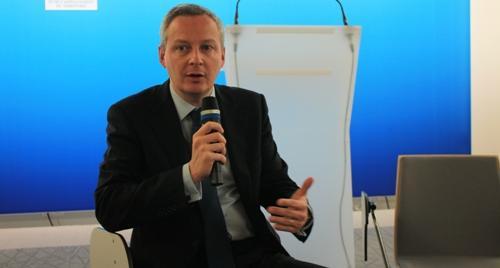 Bruno Le Maire a défendu son bilan, et rappelé que la culture du maïs Mon810 serait bien interdite en France en 2012.