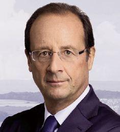 François Hollande en déplacement agricole en Mayenne ce jeudi 23 février