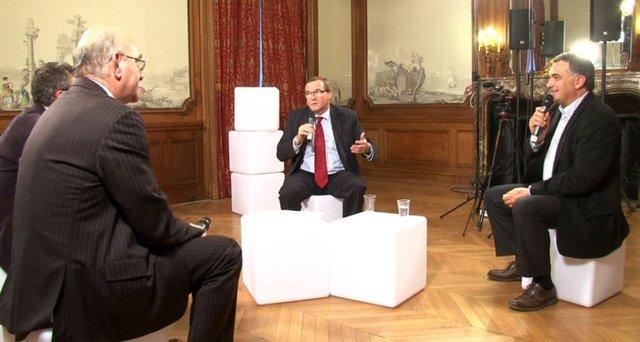 Entre François Hollande et Nicolas Sarkozy, la réforme de la Pac fait débat