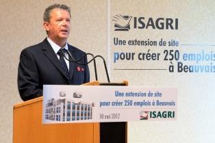 Jean Marie Savalle, président d'Isagri.