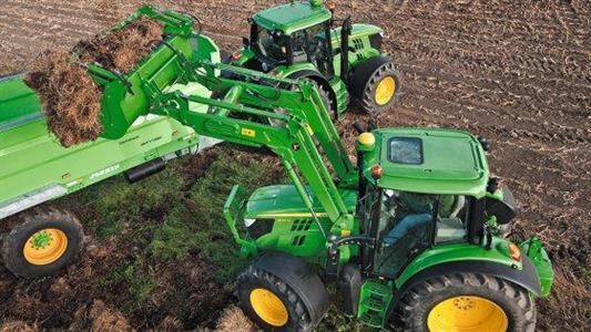 La nouvelle série 6M comporte 6 tracteurs John Deere
