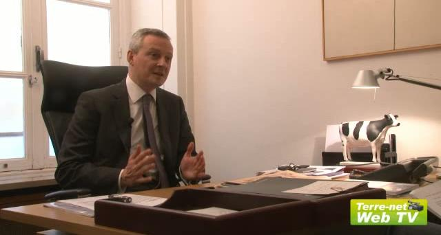L'interview exclusive de Bruno Le Maire