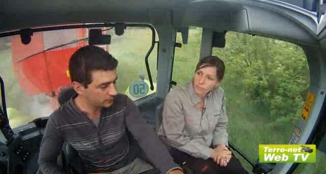 Frédéric Anty (polyculteur éleveur) le met à l'épreuve des travaux des champs !