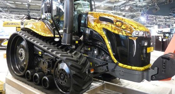 Tracteur Challenger en robe Viper