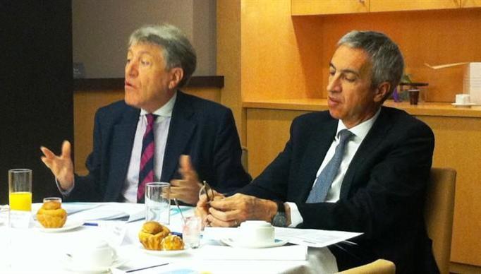 François Gin et Hervé Bachellerie