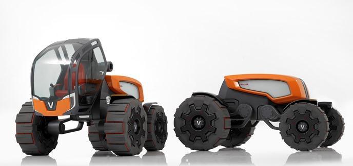 Valtra robot tracteur esclave