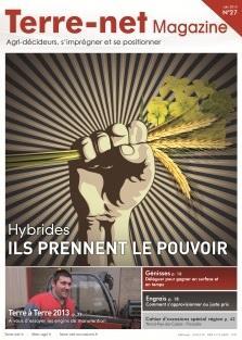Couverture Terre-net Magazine n°27.