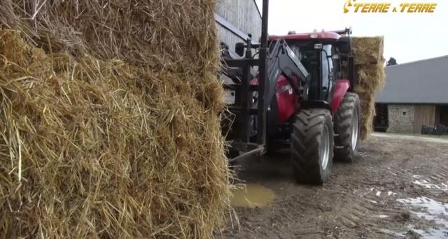 Rémy Eymard (éleveur) : «Même sans lestage, il ne met pas en défaut le tracteur»