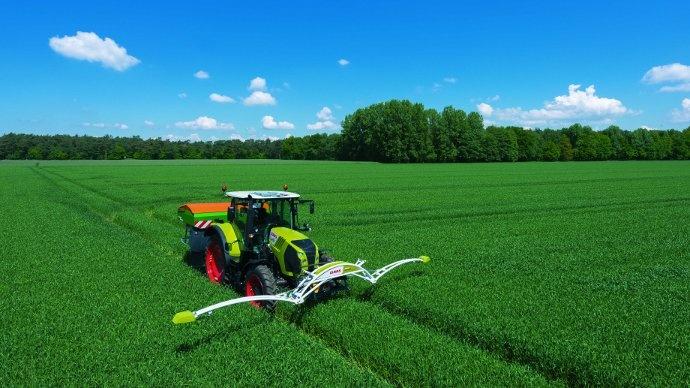 Le Claas Crop Sensor pilote la fertilisation des parcelles
