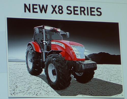Tracteur McCormick X8