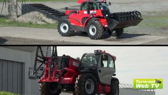Un Mlt 840 bodybuildé et des nouveaux accessoires à Agritechnica