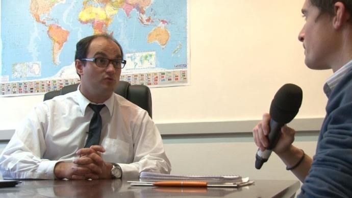 Gauthier Le Molgat, expert en gestion de risque prix chez Agritel