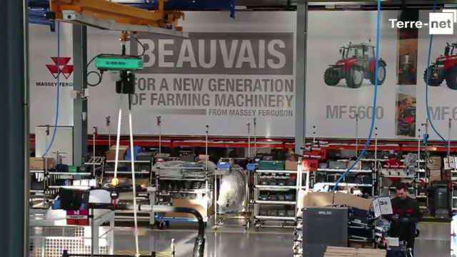 Massey Ferguson confirme son attachement pour Beauvais