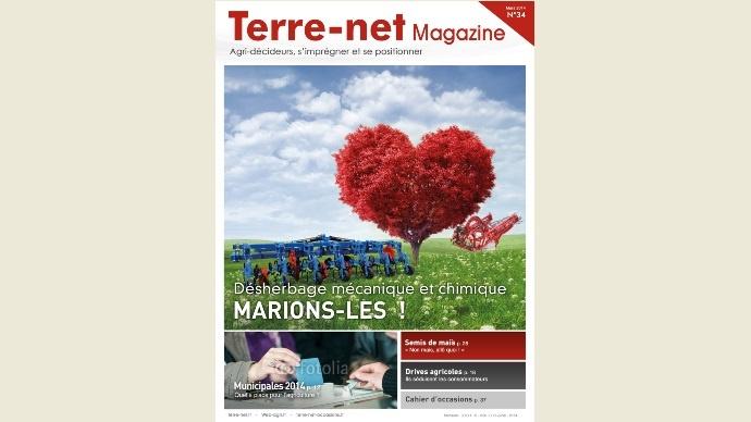 Couverture Terre-net Magazine n°34