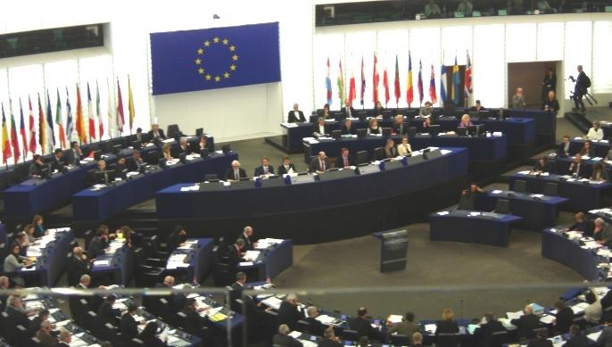 Parlement européen en séance pleinière à Strasbourg