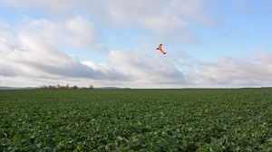 Le drone Airinov durant un vol.