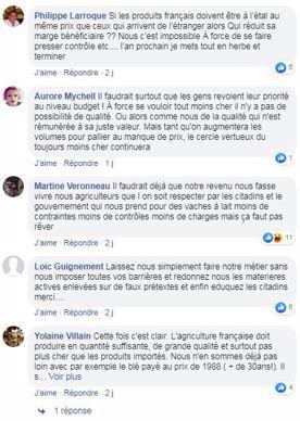 posts facebook didier guillaumel agriculture doit nourrir las francais a pas cher